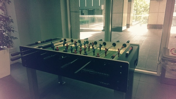 Table football at Codehouse