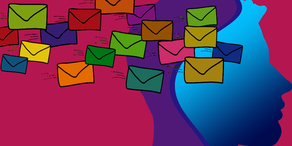 Email Experience Manager 3.5, colourful envelopes