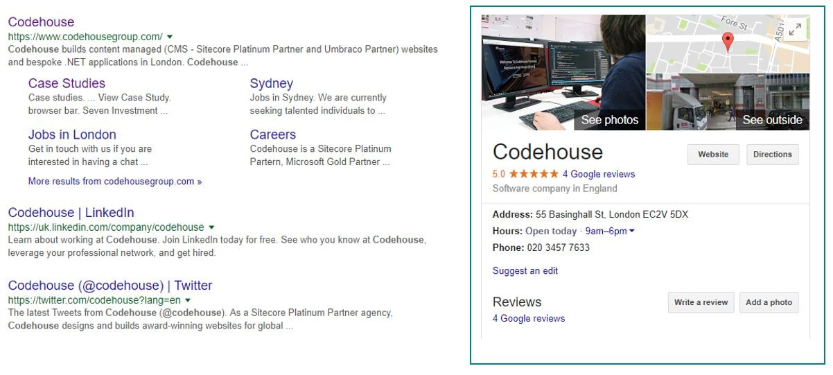 An example of a how schema markup snippet is displayed in Google