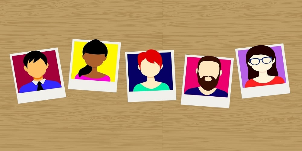Personalistion for retail and ecommerce - avatars of people