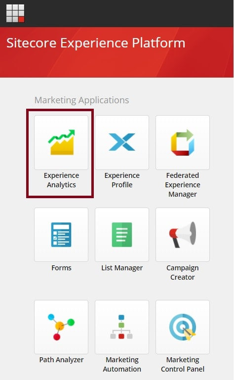 Sitecore Marketing Applications Dashboard