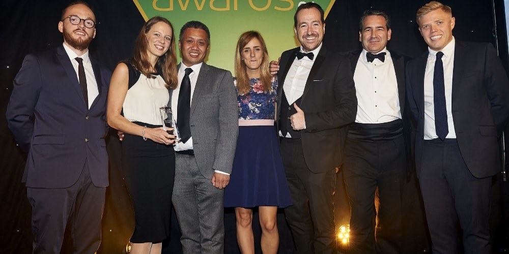 Ecommerce awards 2017, thw wagamama and Codehouse team