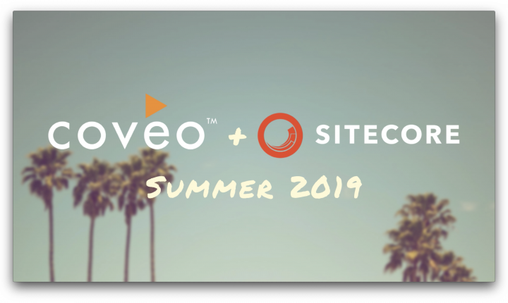 Coveo and sitecore summer 2019