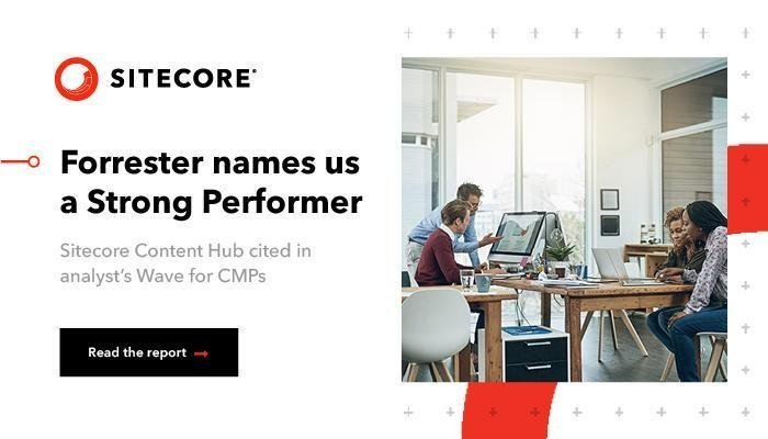 Forrester names sitecore a strong performer in content marketing