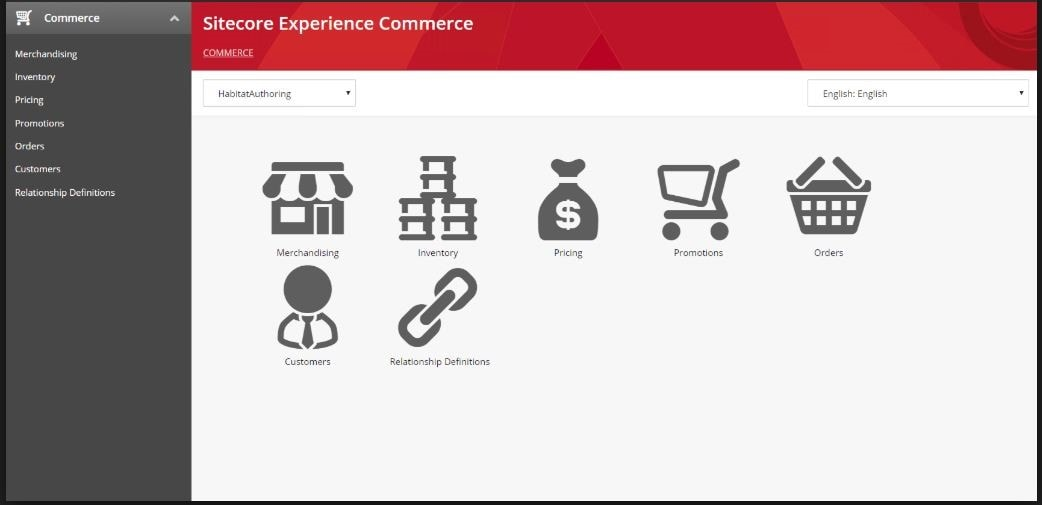 Sitecore Experience Commerce features