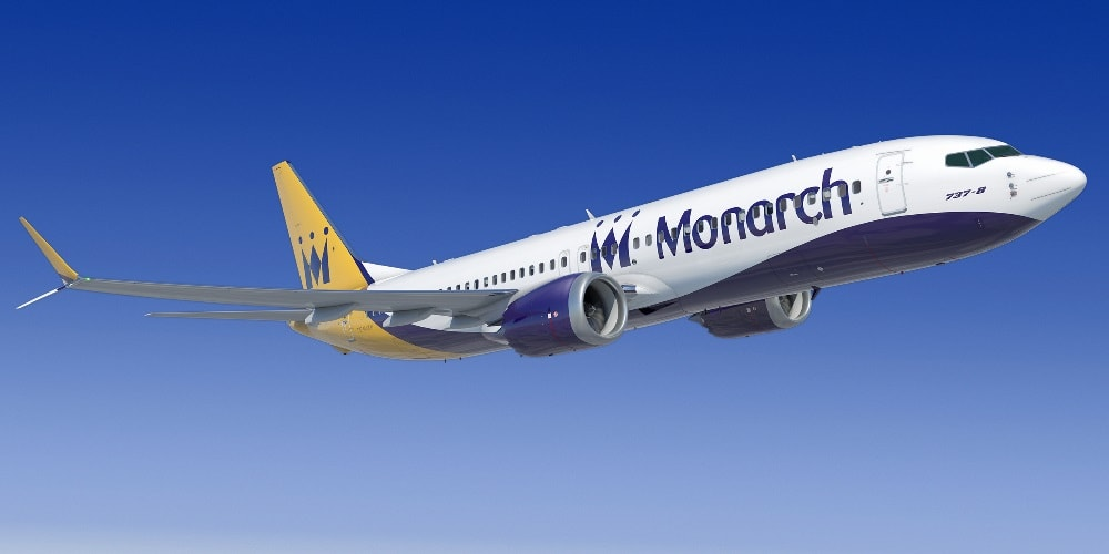 737 Monarch Airlines aircraft